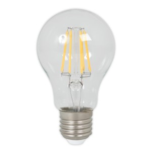 Calex LED Filament clear bulb 5.5W (60W) E27 warmwhite Light Essentials