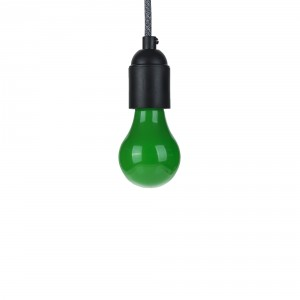 Colored lamp green