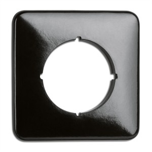 Bakelite single cover for dimmers - square by THPG