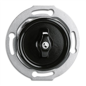 Bakelite built-in rotary switch - multi-circuit