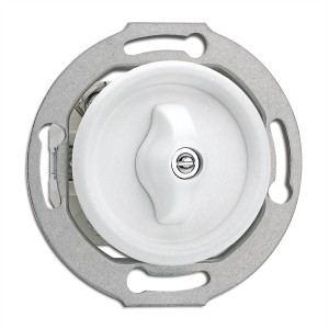Duroplast built-in rotary switch - two-way THPG Light Essentials