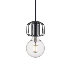 'Askja' socket/pendant system black chrome Light Essentials