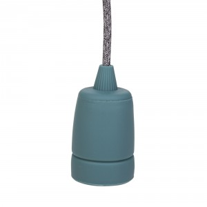 Silicone lamp holder sleeve 'Copenhagen' sea green