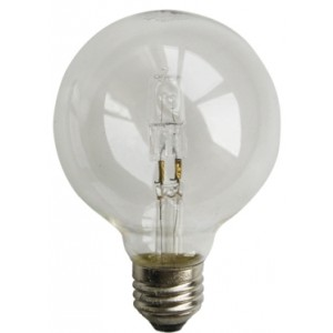 Ø125mm big halogen globe 28W (40W)