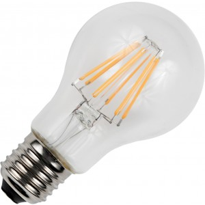 SPL dimmable LED filament bulb 6,5W E27 clear