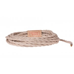 Snoerboer Naturals: Lasso fabric cable