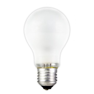 240V 60W E27 frosted incandescent lamp