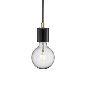 Nordlux 'Siv' pendant black marble Light Essentials