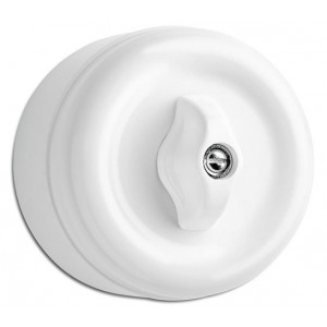 Duroplast surface mounted rotary toggle switch Light Essentials