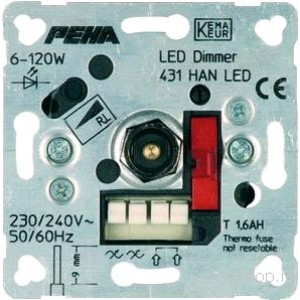 Peha universal LED dimmer 6-60W Light Essentials