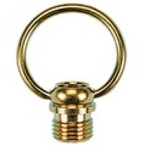 Brass ring for a chain