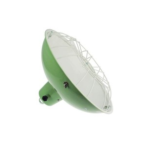 'Cargo Bay' green ship lamp pendant E40