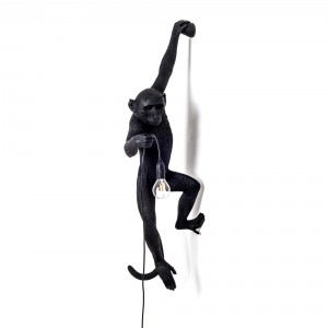 Seletti Monkey black 'hanging' Light Essentials