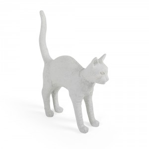 Seletti 'Jobby the Cat' table lamp - white Light Essentials
