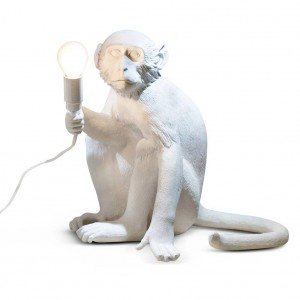 Seletti Monkey 'sitting' lamp Light Essentials