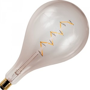 LED bulb smokey gold extra large