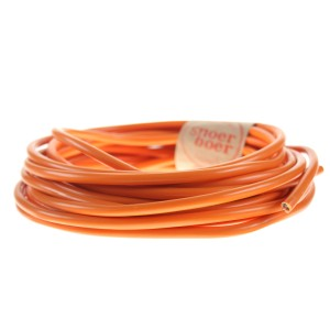 snoerboer orange plastic cable
