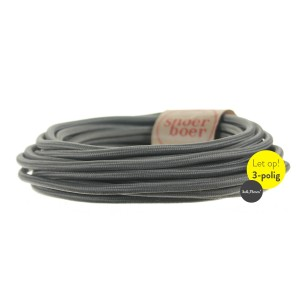 Concrete grey cable