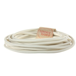 Creme fabric cable Light Essentials