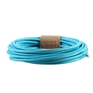 colored cable patina blue