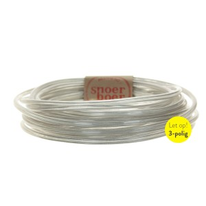 Transparent round cable