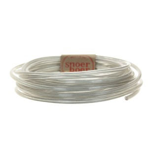 Transparent round cable Snoerboer
