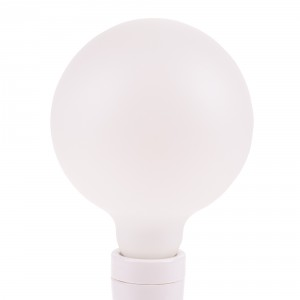Snoerboer Satin Opal LED Globe 125mm 4,5W E27