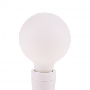 Snoerboer Satin Opal LED Globe 95mm 4,5W E27