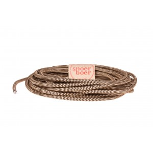 Golden Zebra fabric cable