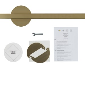 Lightswing Twin brass Light Essentials