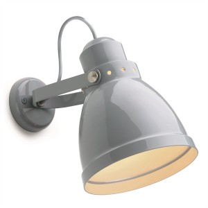 wall lamp grey