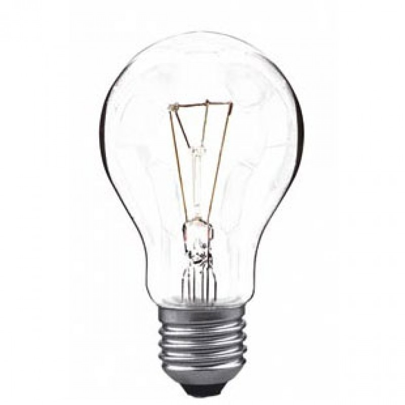 Incandescent light bulb 150W E27 clear  light essentials