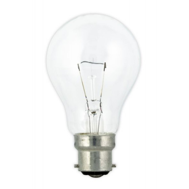 Light Essentials Clear B22 Bulb 100w With Extra Strong Construction