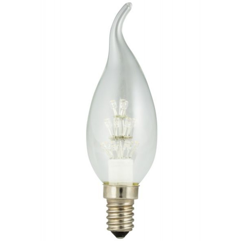 Pearl LED filament candle with tip