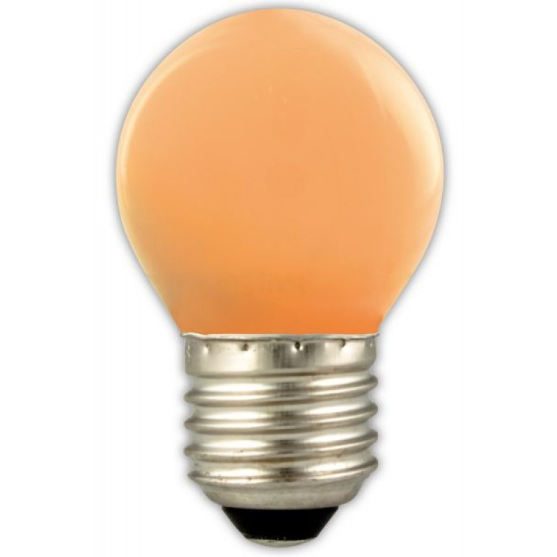 Party light bulbs orange