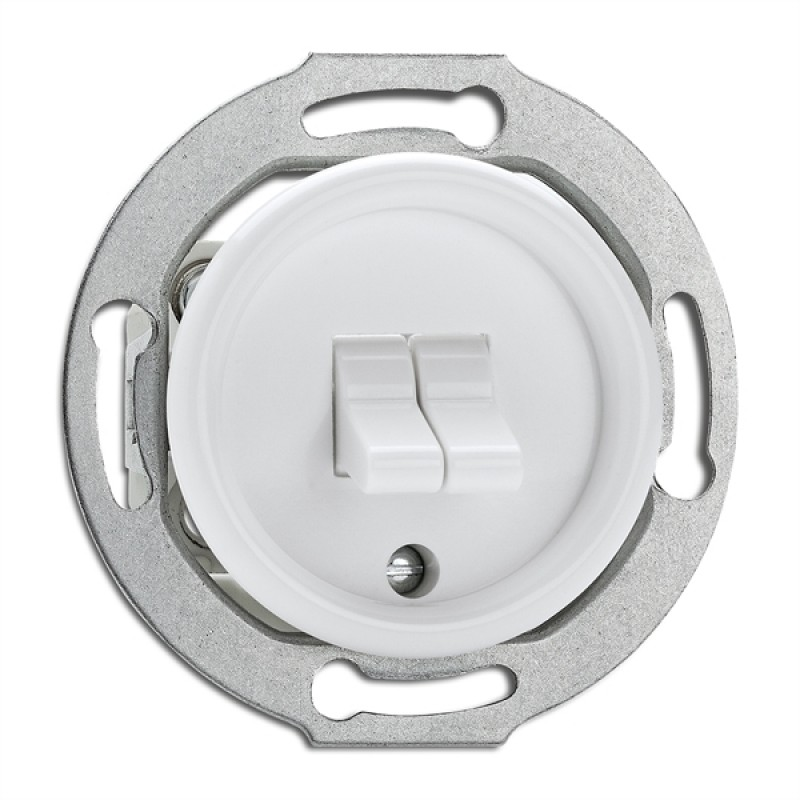 Duroplast double toggle switch Light Essentials