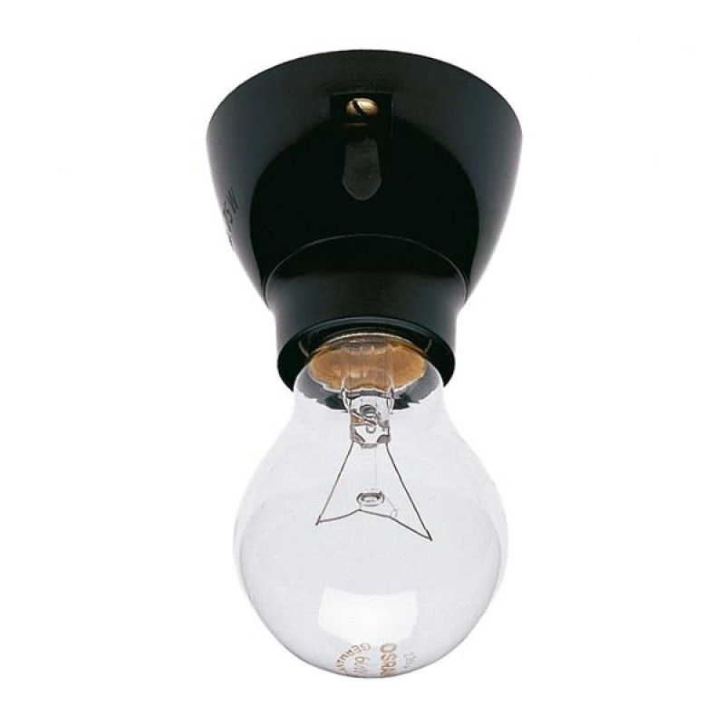 Duroplast ceiling/wall light black I