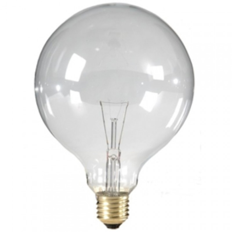 Ø125mm big clear globe 40W light essentials