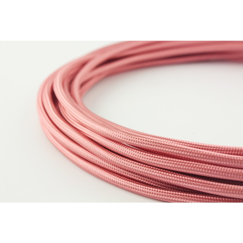 snoerboer colored cable glamour pink light essentials