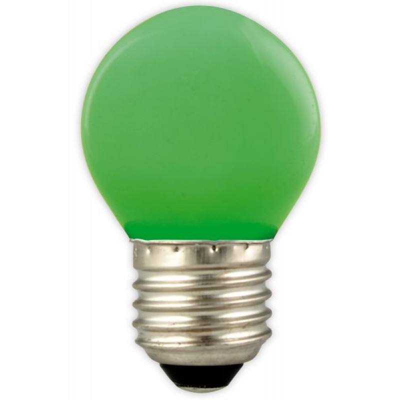 Green LED bulb for party lights