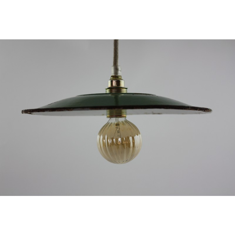 brass retro shade