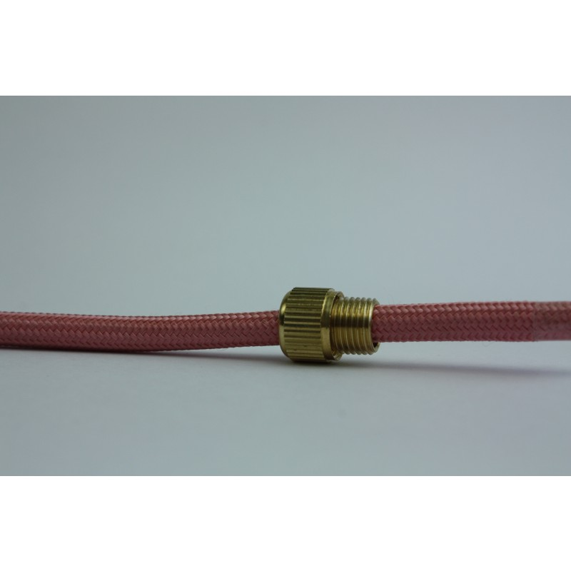 Glamour pink textile cable light essentials
