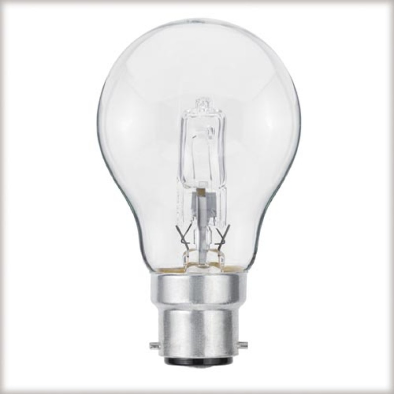 Halogen light bulb B22 42W (60W) light essentials