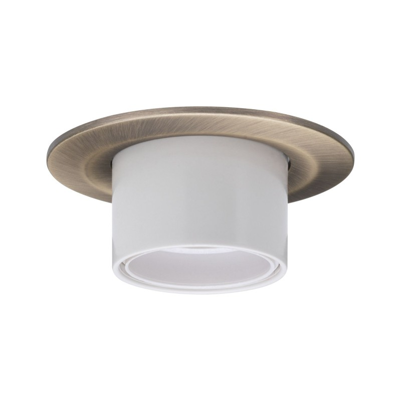 Recessed luminaire 'Nova' with E27 socket brown steel Light Essentials