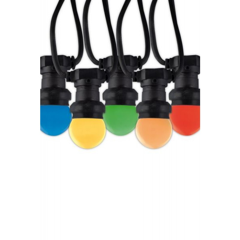 LED party light of 10 meters and 10 bulbs