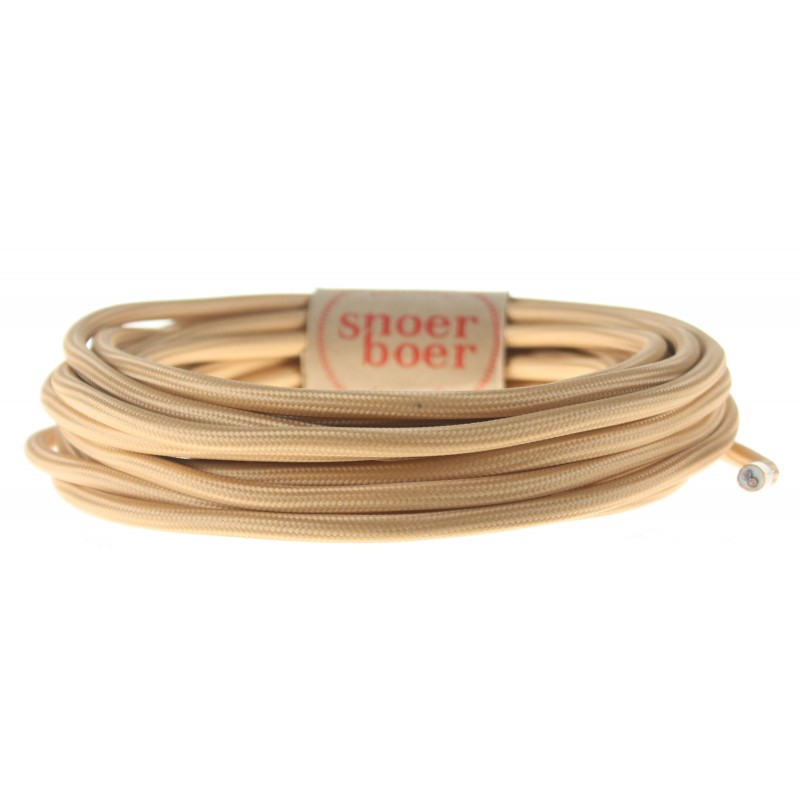 snoerboer colored cable beige
