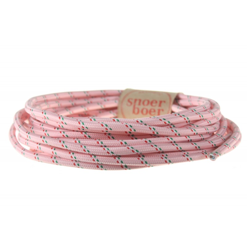 colored cable pink italian