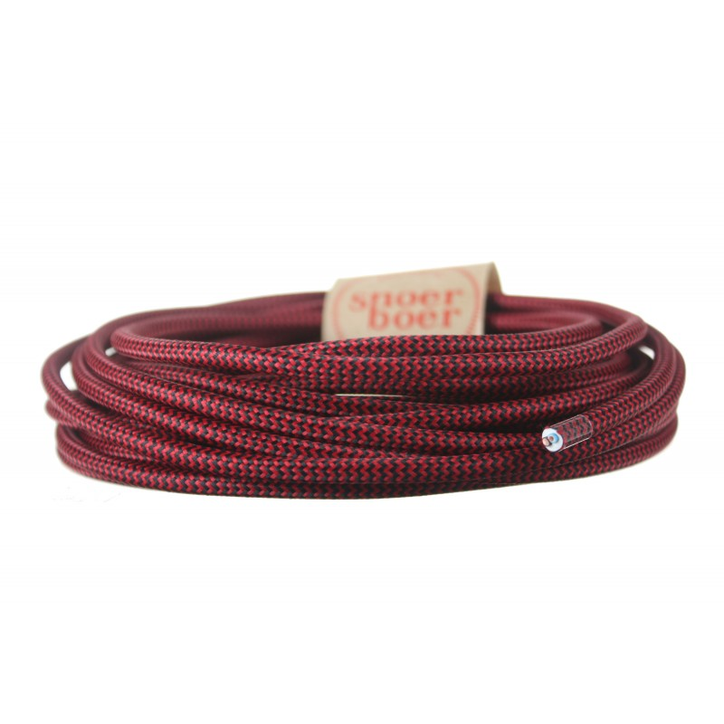 Light Essentials colored cable devil black red