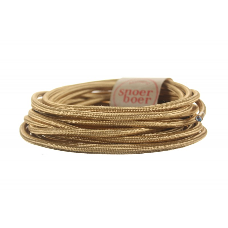 snoerboer colored cable gold