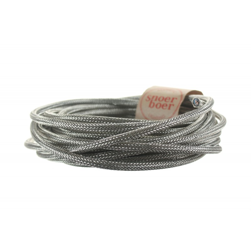snoerboer metal braided cord